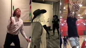 Lidé se mění v nehybné figuríny: Je tu šílenství mannequin challenge! Neodolaly ani celebrity