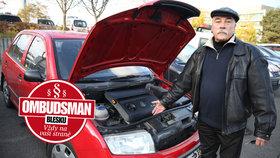 Fabia jezdila, než jsem ji odvezl do servisu, stěžuje si pan Stanislav! Autoservis za prasklý motor necítí zodpovědnost