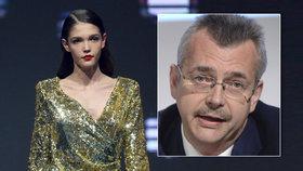 Patnáctiletá dcera exministra Tvrdíka vyhrála světovou soutěž Elite Model Look