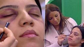 Šokující pořad v televizi: Maskérka radila, jak zakrýt stopy domácího násilí