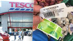 Tesco prodává bio česnek z farmy Deblín z Číny: Zákazník se vysvětlení marně domáhal 4 měsíce