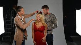 Moderátorská hvězda pro Blesk tv MAGAZÍN: ČERTausová je sexy i v pekle!