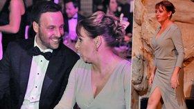 Primátorka na plese v Obecním domě: Ukázala stehno jako Angelina Jolie, vyvedla mladého krasavce