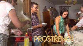 Čuník Lojzík v Prostřeno: Hosté se štítí nádobí i záchodu! A musí zakročit
