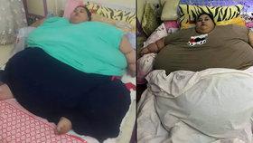 Nejtěžší ženu světa (500 kg) čeká operace: Z domu se dostane po 25 letech