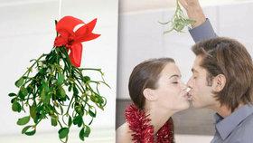 Kouzelné jmelí: Proč je symbolem Vánoc?