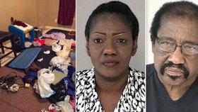 Uvnitř ložnice hrůzy: Krutý pár v ní držel 7 dětí celých deset let!