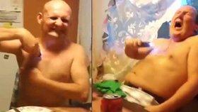»Vyděržaj pioněr« v dospělé verzi: Video opilých Rusů s paralyzérem baví internet!