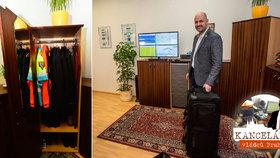 """Vždy připraven! Šéf pražské záchranky má v kanceláři stále """"sbalený kufr"""""""