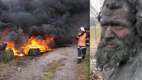 Nejšpinavějšímu muži Česka starostka nezaplatila pohřeb: »Muže z popela« nechala tajně spálit