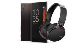 Sony opakuje úspěšnou prodejní akci. K Xperii XZ přidá zdarma sluchátka za 5 tisíc
