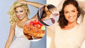 Co jedí slavní na Vánoce: Ryba, nebo řízek?