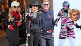 Hollywoodské hvězdy skupují Aspen: Vymetají luxusní obchody, jen Paris Hilton lyžuje!