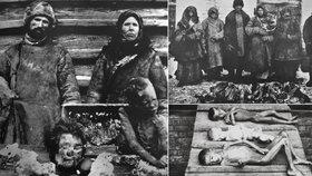Hladomor chudé Rusy proměnil v kanibaly: Své mrtvé děti prodávali jako jídlo pro ostatní!