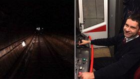 Lukáš popsal práci v metru: Unavuje to. Když přijdu domů, potřebuju vidět světlo