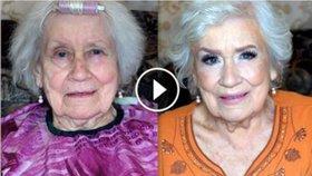 Video, které uchvátilo 2 miliony lidí: Češka proměnila babičku v hollywoodskou hvězdu