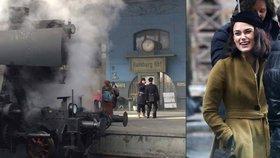 Na hlaváku natáčí film s Keirou Knightley: Z Prahy ovšem udělali Hamburk