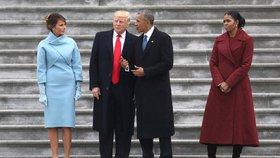 """Trumpa chce """"sestřelit"""" jeho předchůdce. Obama se zapojí do kampaně demokratů"""