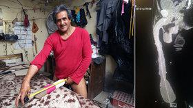 Muž s nejdelším penisem na světě (48 cm) míří do Prahy: Dostal nabídku natočit porno