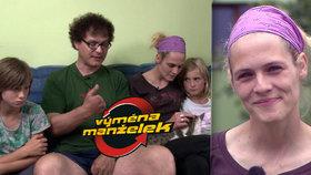 Nová Výměna manželek: Pavel (51) přišel o prsty a dělá rodině mámu!