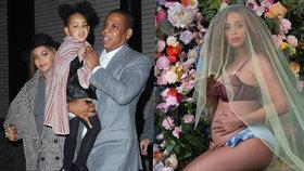 Beyoncé je opět těhotná: Čeká dvojčata!