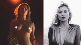 Modelka Kate Moss opět provokuje: Nechala se nafotit nahá