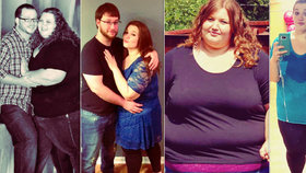 Morbidně obézní baculka vážila s buclatým manželem 350 kg, společně zhubli 140 kg