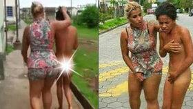 Rozzuřená manželka načapala muže při nevěře, milenku pak za vlasy táhla ulicemi