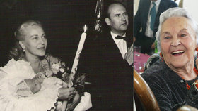 Tajemství manžela Zity Kabátové (†99): Seděl s tchánem svého syna!