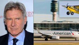 Harrison Ford si spletl ranvej a vjel pod kola boeingu se 110 lidmi: Vezmou mu konečně licenci?