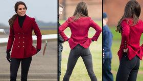 Zadeček, který otřásl monarchií: Vévodkyně Kate je i po dvou dětech neskutečně sexy. FOTODŮKAZ uvnitř