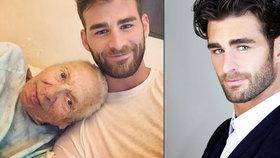 Dojemný příběh: Hollywoodský herec (31) se postaral o umírající sousedku (†89), která neměla peníze