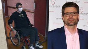 Moderátor Michal Jančařík po zdravotních komplikacích: Měl nehodu na invalidním vozíku