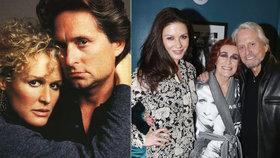 Michael Douglas a Glenn Close 30 let po Osudové přitažlivosti: Štramák a strašidlo!