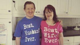 To je láska! Pár s Downovým syndromem oslaví 22. výročí svatby!