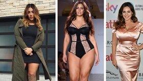 Sexy i s kily navíc: Podívejte se na nejžhavější plus size modelky a blogerky