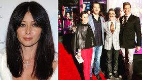 Shannen Doherty skoncovala s rakovinou: Brenda z Beverly Hills vyrazila do společnosti