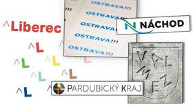 Třeskutá loga českých měst a krajů. Liberec, Náchod i Ostrava budí emoce