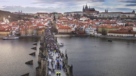 Počasí v Praze: Začátkem týdne se ochladí, koncem se teploty přehoupnou přes 10 stupňů