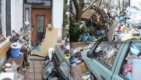 Tohohle souseda nechcete! Muž z Náchodska zahradu zasypal odpadky a zalévá močí