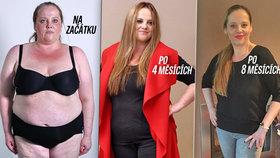 Rekord v pořadu Jste to, co jíte: Marcela (41) zhubla 52 kilo!