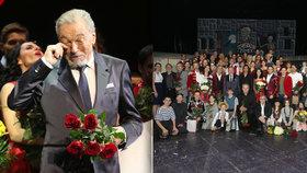 """Karel Gott (77) o """"svém"""" muzikálu Času růží: Chválit to nebudu!"""
