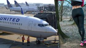 Děvčata v legínách nesměla do letadla. Aerolinky odvracejí hněv