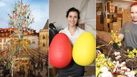 Tak budou vypadat Velikonoce v Praze! Podívejte se do dílny, kde vyrábějí dekorace