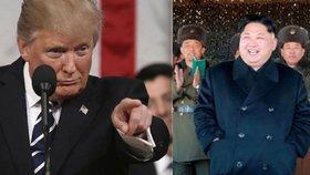 """""""Kim je lišák!"""" Trump vysekl poklonu vůdci KLDR, že se drží dlouho u moci"""