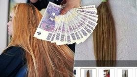 Soňa prodala vlasy, aby měla na dárky. Expertka: Evropské mají cenu zlata
