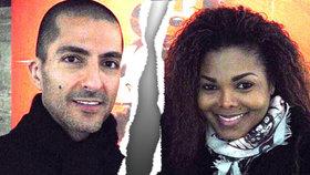 Rozvod Janet Jackson: Tři měsíce po porodu opouští muslimského miliardáře