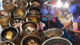Pravá chuť Thajska: Zapomeňte na restaurace! Vyzkoušejte street food a noční trhy!