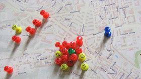 Praha 8 tvoří pocitovou mapu. Označte dobrá a špatná místa kolem vás