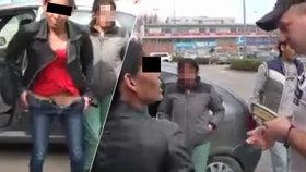 Hele, bobr! Řidička ukázala policistům místo dokladů své přirození